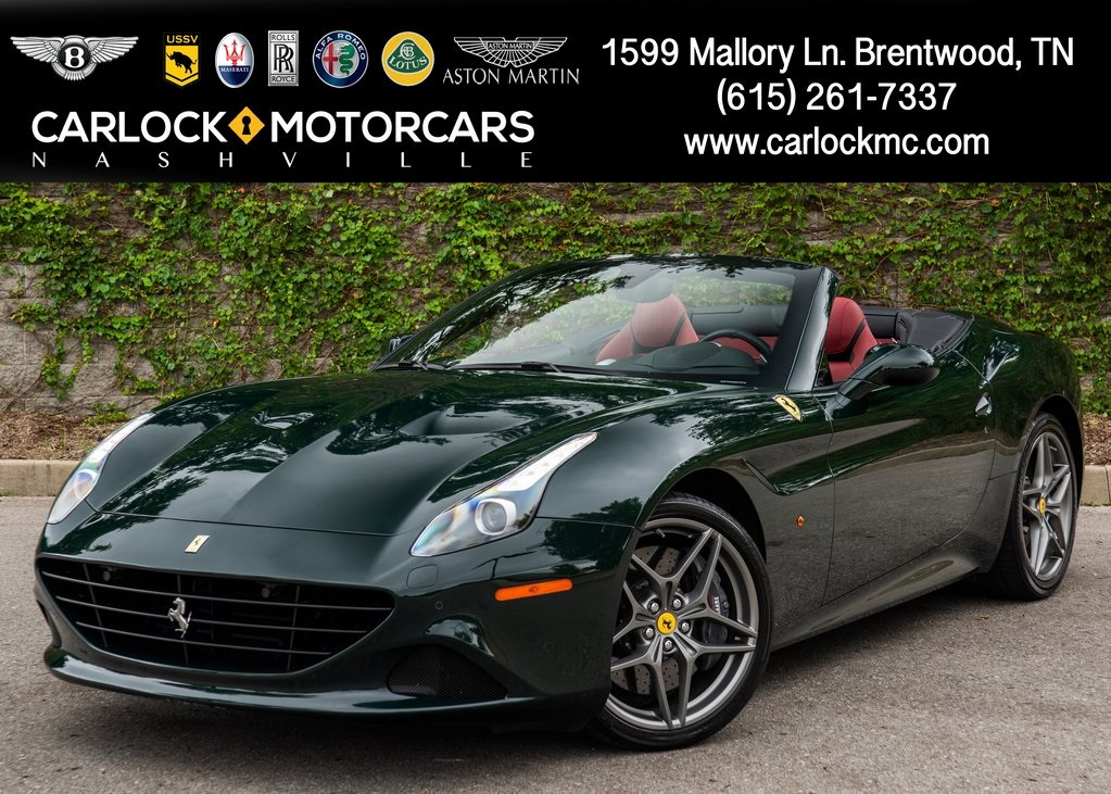 Pre Owned 2016 Ferrari California T 2d Convertible In Brentwood